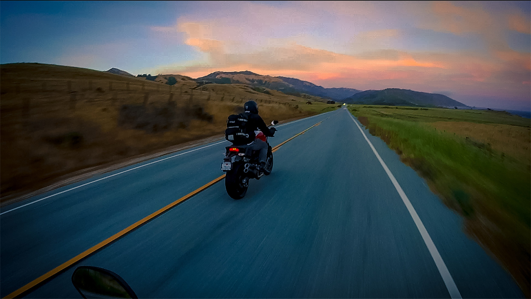 Riding Ducatis Down the Pacific Coast Highway